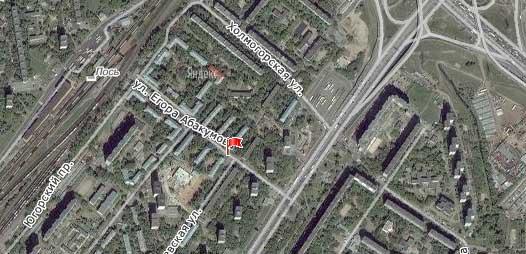 Улица Егора Абакумова, Северо-восточный административный округ, район Ярославский.