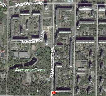 Улица Абрамцевская, Северо-Восточный административный округ, Район Лианозово.