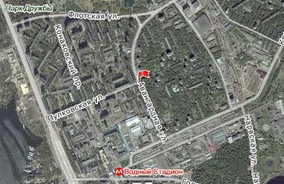 Улица Авангардная, Северный административный округ, Район Головинский.