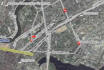 Улица Автозаводская, Южный административный округ, Район Даниловский.