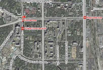 Улица Азовская, Юго-Западный административный округ, Район Зюзино.